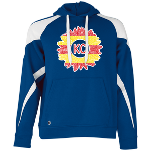 Chiefs Sunflower Colorblock Hoodie