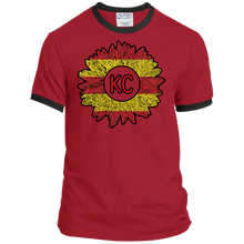 Chiefs Sunflower Ringer Tee