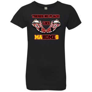 Theres no place like MoHOMEs Girls' Princess T-Shirt