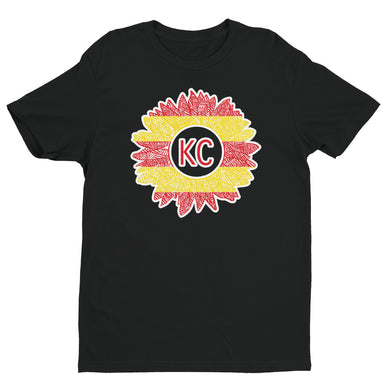 Chiefs sunflower Short Sleeve T-shirt