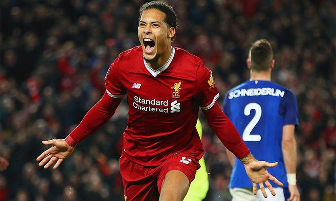 Virgil van Dijk's birthday is just a reminder he's the best defender in the world