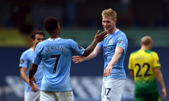 Kevin De Bruyne wins Player of the Year and there was no doubt it would happen