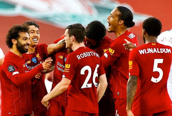 Liverpool wins its first Premier League title in 30 years!
