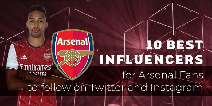 10 best influencers for Arsenal fans to follow on social media