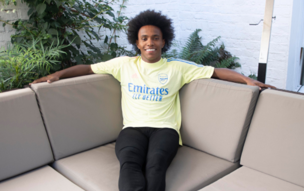 Arsenal officially announces Willian has joined the club from Chelsea