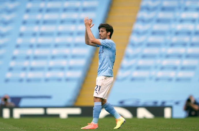 Man City planning to build statue for club legend David Silva
