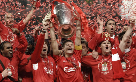 The infamous Miracle in Istanbul for Liverpool FC