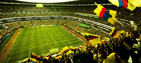 The Estadio Azteca is one of a kind, no doubt.