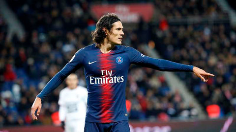 Edinson Cavani  Paris Saint-Germain