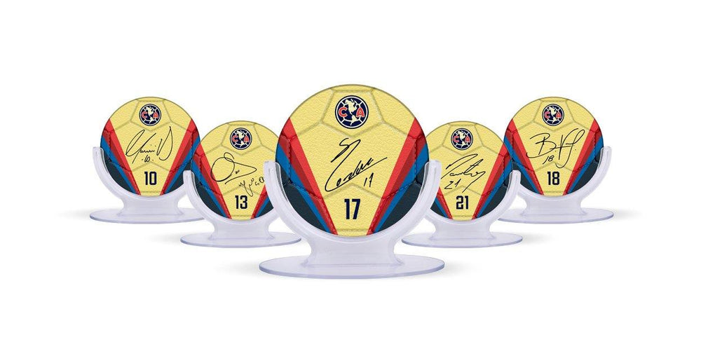 Club America Signables Collectible Bundle