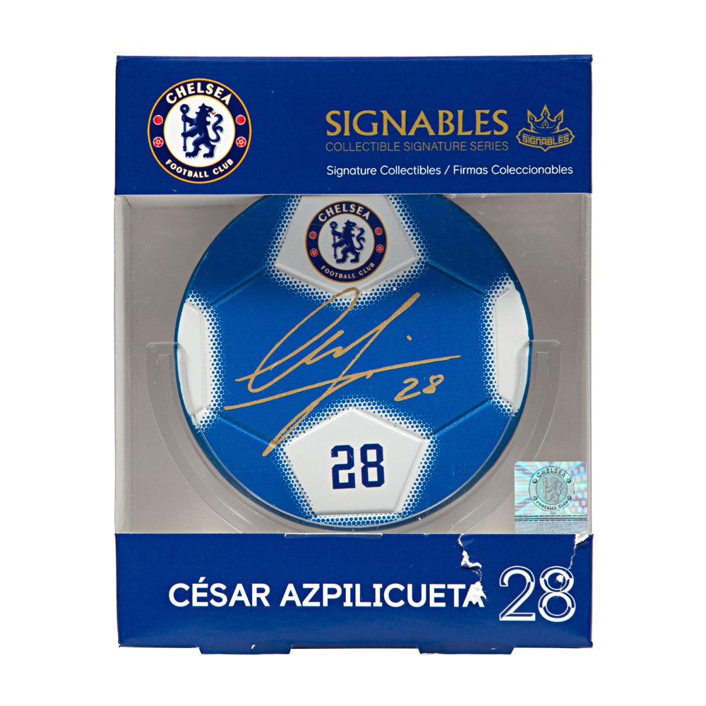 Cesar Azpilicueta - Chelsea F.C. Signables Collectible Box Front