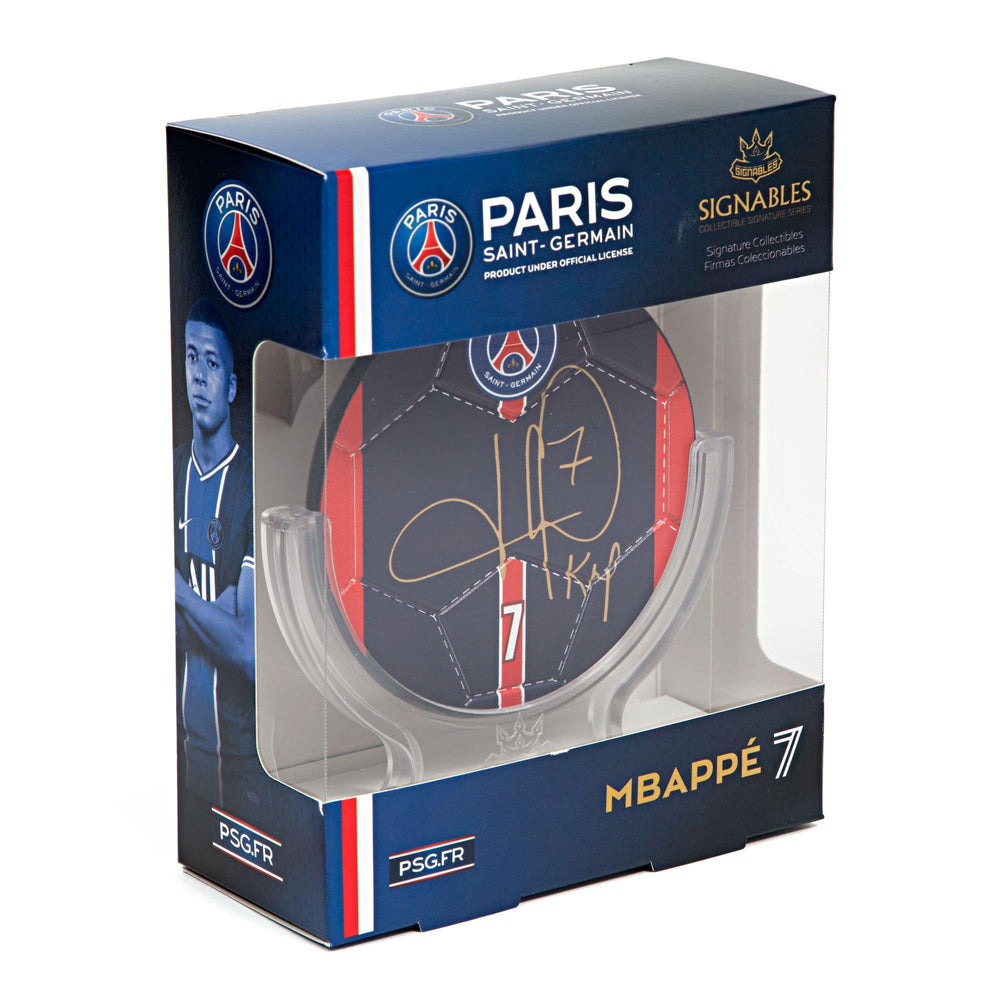 Kylian Mbappé - Paris Saint-Germain F.C. Signables Collectible
