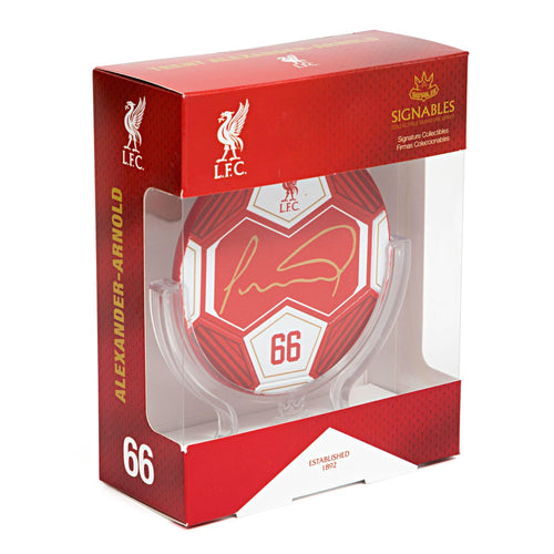 Trent Alexander-Arnold - Liverpool F.C. Signables Collectible Box Side