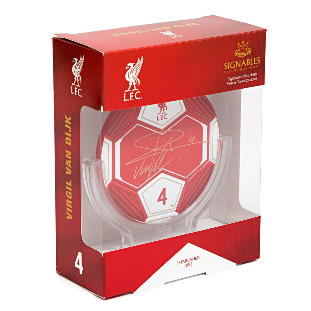 Virgil van Dijk - Liverpool F.C. Signables Collectible