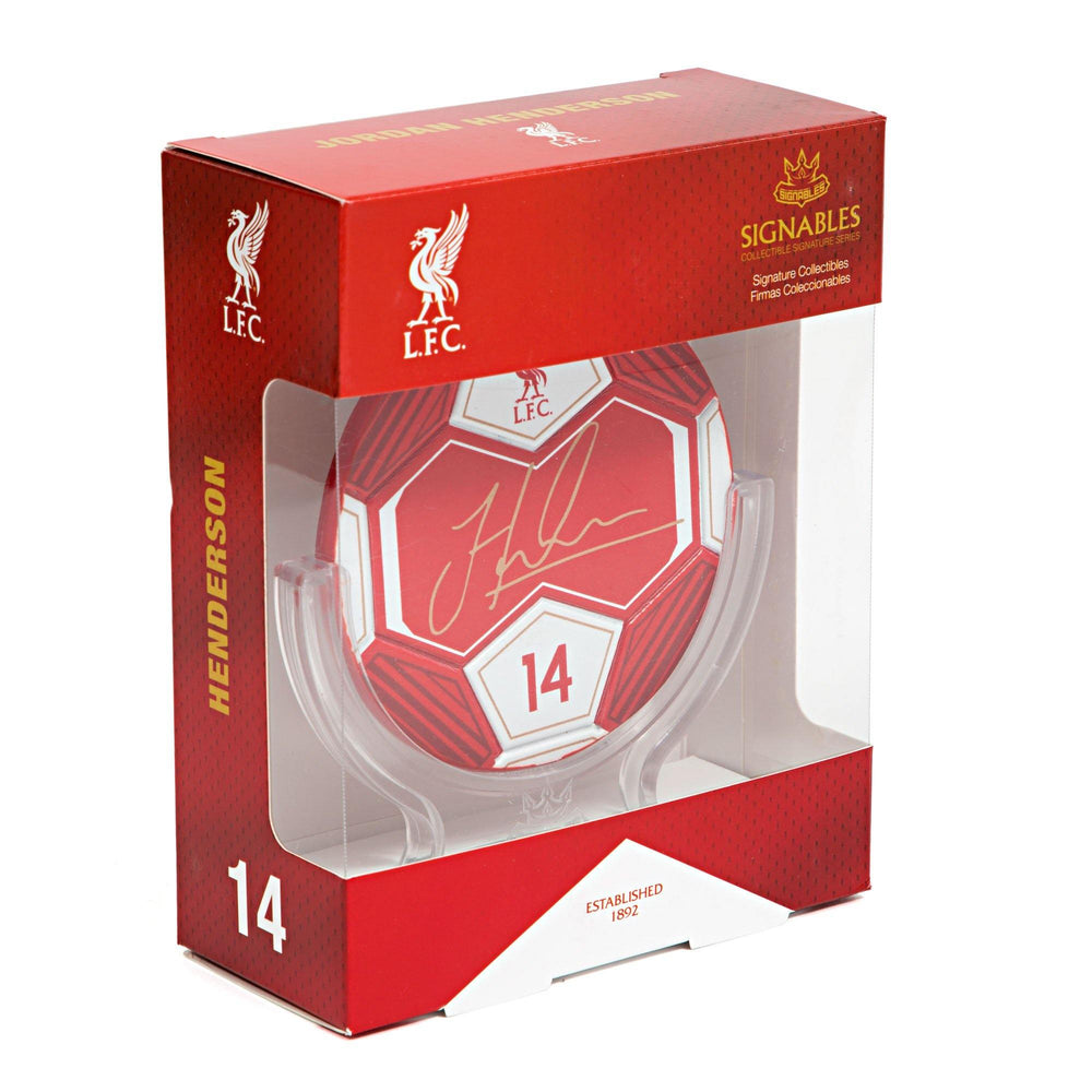 Jordan Henderson - Liverpool F.C. Signables Collectible
