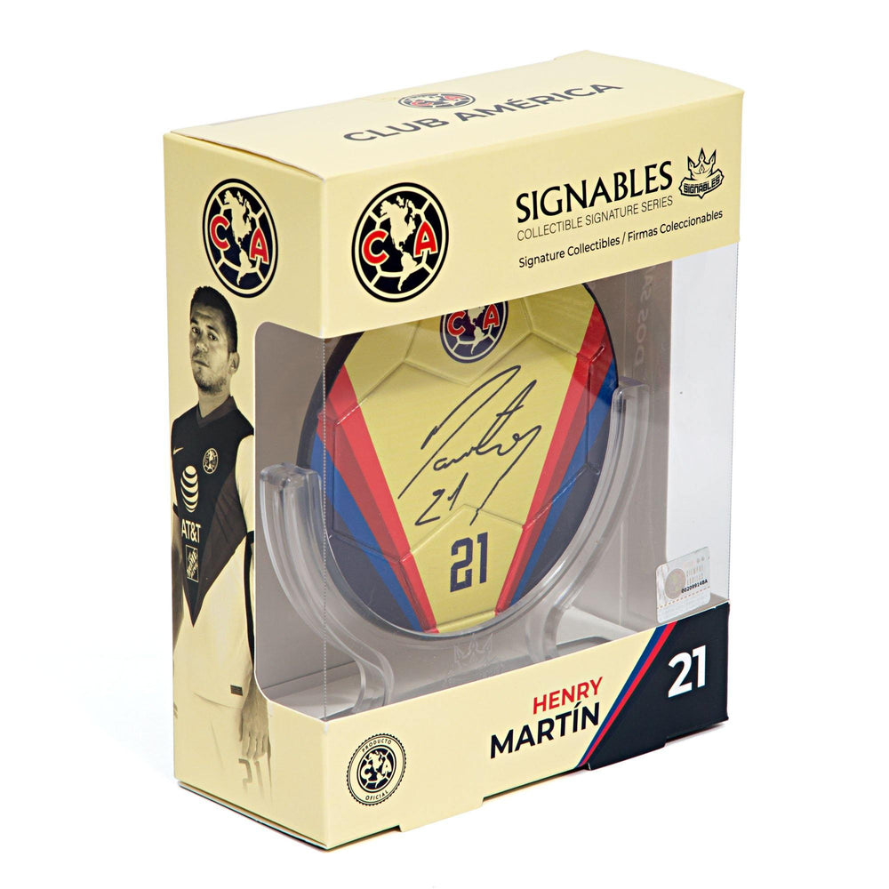Henry Martin - Club America Signables Collectible
