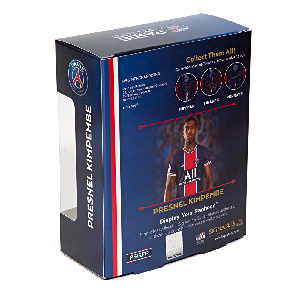 Presnel Kimpembe - Paris Saint-Germain Signables Collectible Box Back