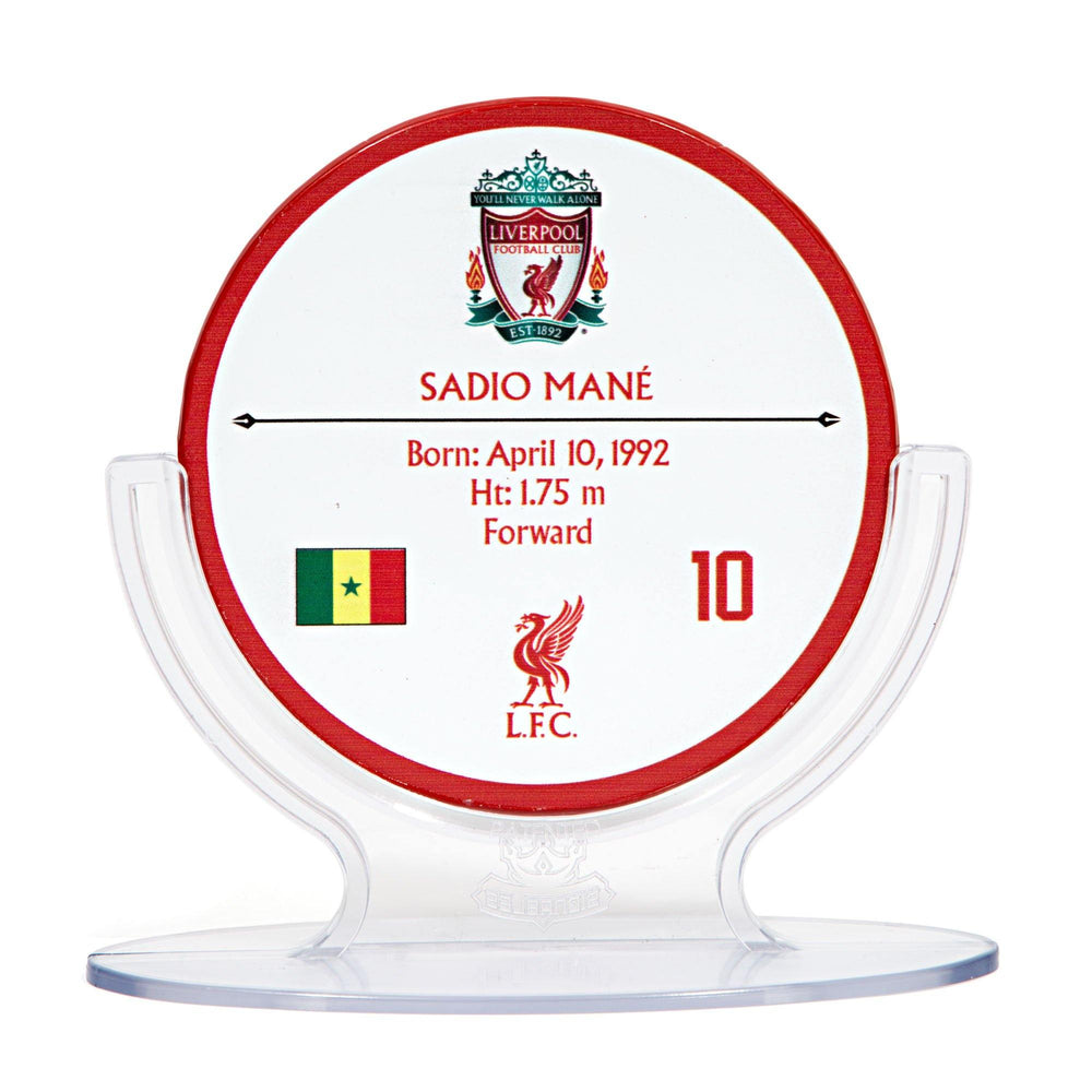 Sadio Mane - Liverpool F.C. Signables Collectible in Stand Back
