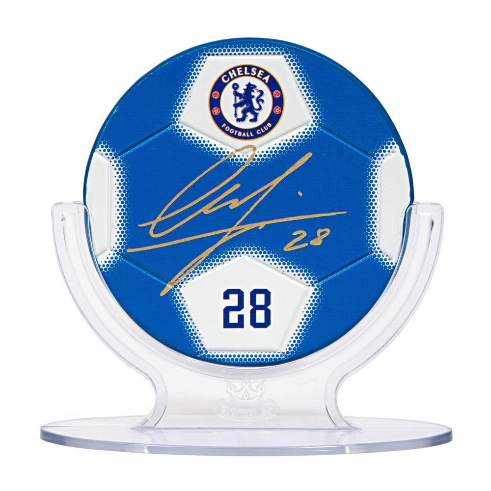 Cesar Azpilicueta - Chelsea F.C. Signables Collectible in Stand Front