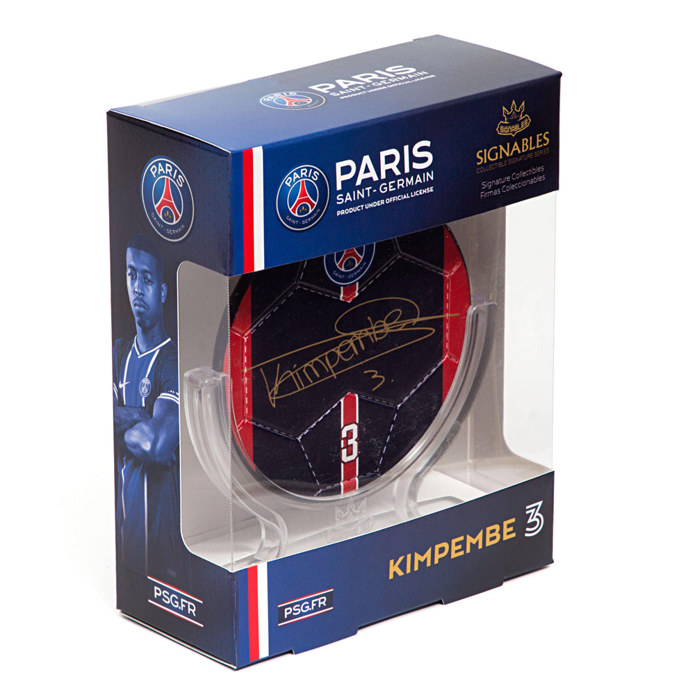 Presnel Kimpembe - Paris Saint-Germain Signables Collectible Side
