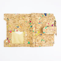 Colourful Vivid Lisa Cork Wallet Purse Cruelty Free Ethical Vegan Recycled