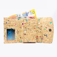 Emily Cork Wallet in Vivid