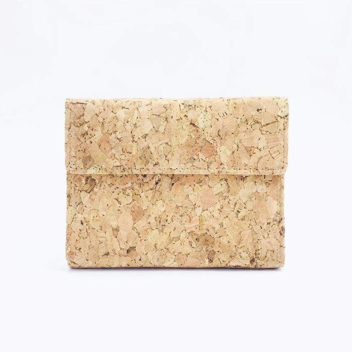 Plain Classic Laura Cork Wallet Purse Natural Cruelty Free Ethical Vegan Recycled