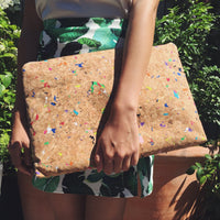 "Annie 15"" - 16"" Cork Laptop Case in Vivid"