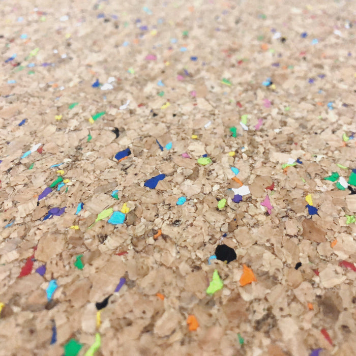 Cork Fabric in Vivid