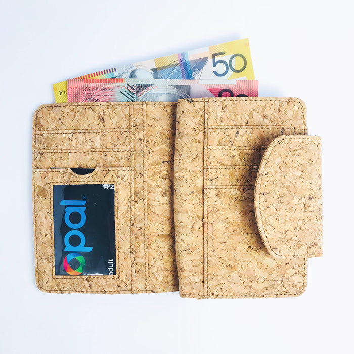 Fiora Cork Wallet in Classic