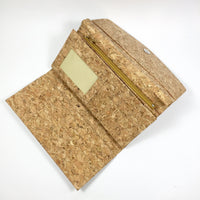 Emma Long Cork Wallet in Classic