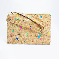 Annie Mini Cork Pouch in Vivid