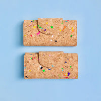 Two By The Sea Collection, Fara, colourful women's vegan cork leather wallets