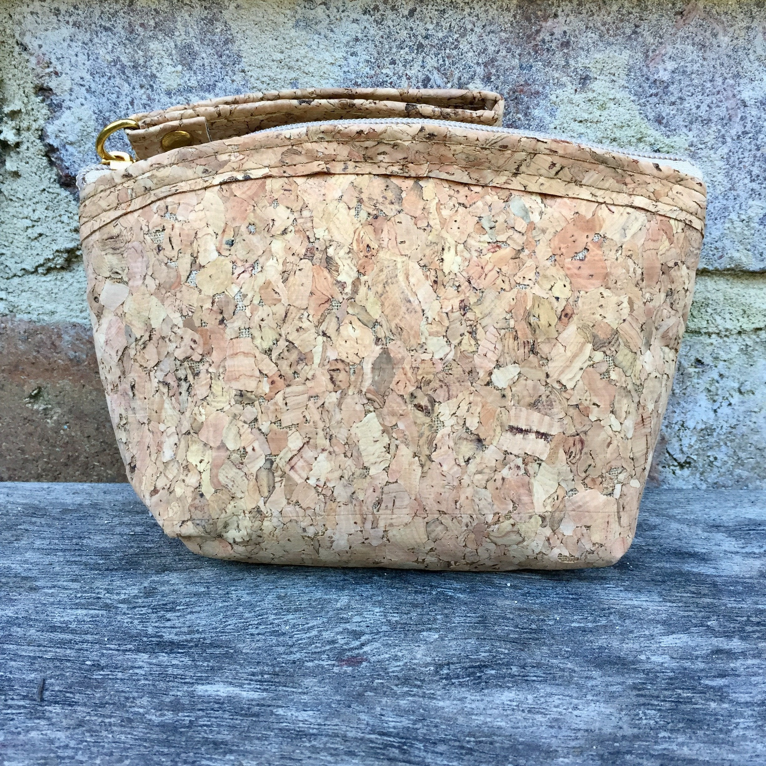 Gigi Large Cork Coin Pouch in Classic
