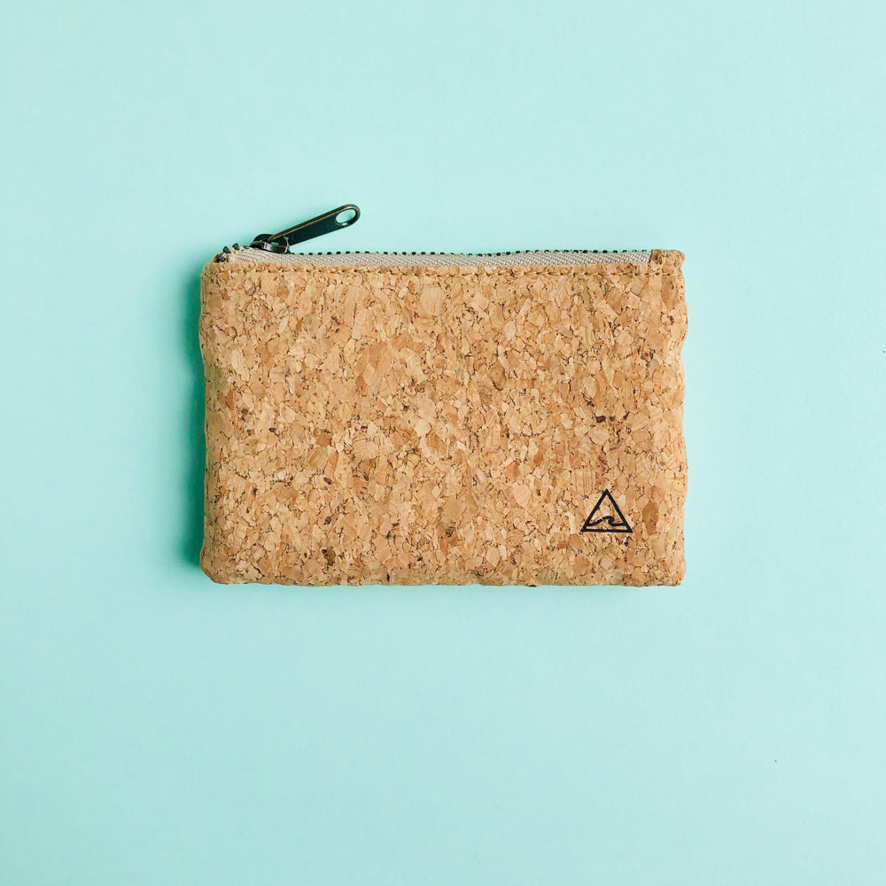 By The Sea Collection, Gigi, vegan cork leather coin pouch