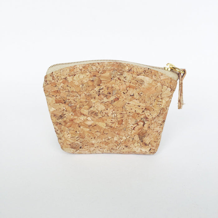 Gigi Small Cork Coin Pouch in Classic