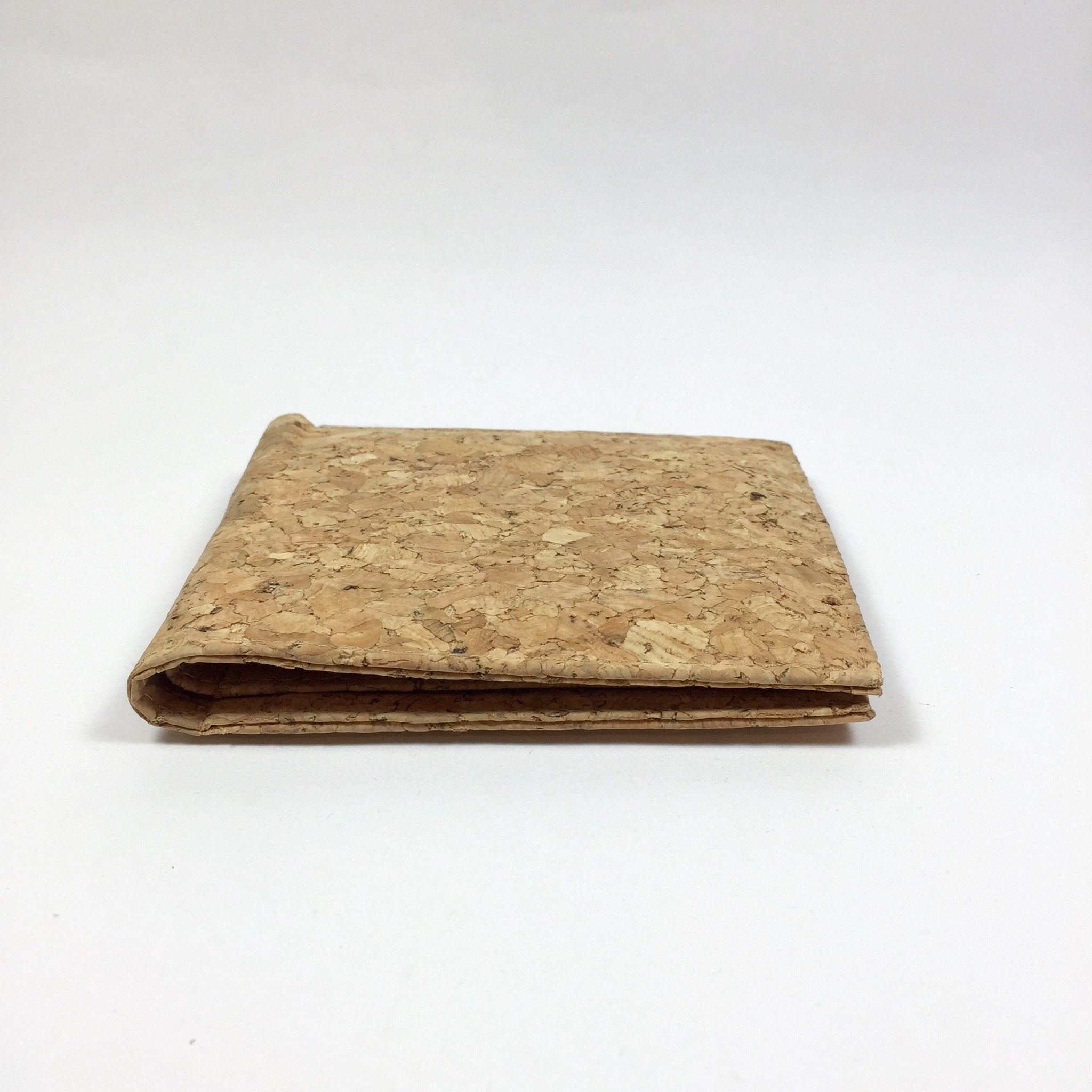 Plain Classic Henry Cork Wallet Natural Cruelty Free Ethical Vegan Recycled