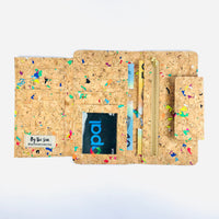 Frida Long Cork Wallet in Vivid