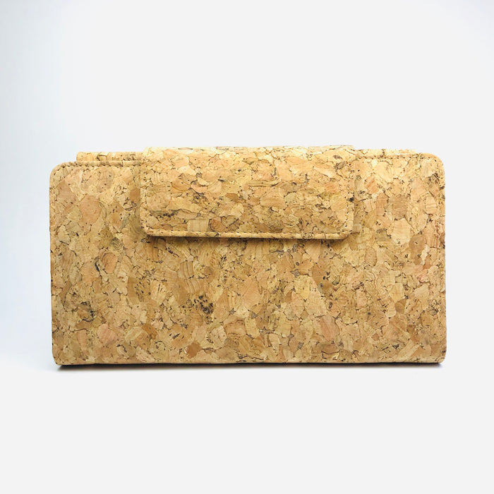 Frida Long Cork Wallet in Classic