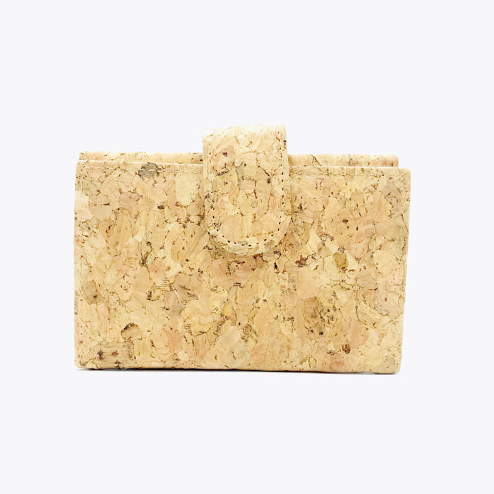 Plain Classic Kate Cork Wallet Natural Cruelty Free Ethical Vegan Recycled