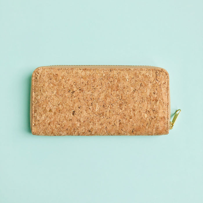 By The Sea Collection, Iggy, women's vegan cork leather wallet