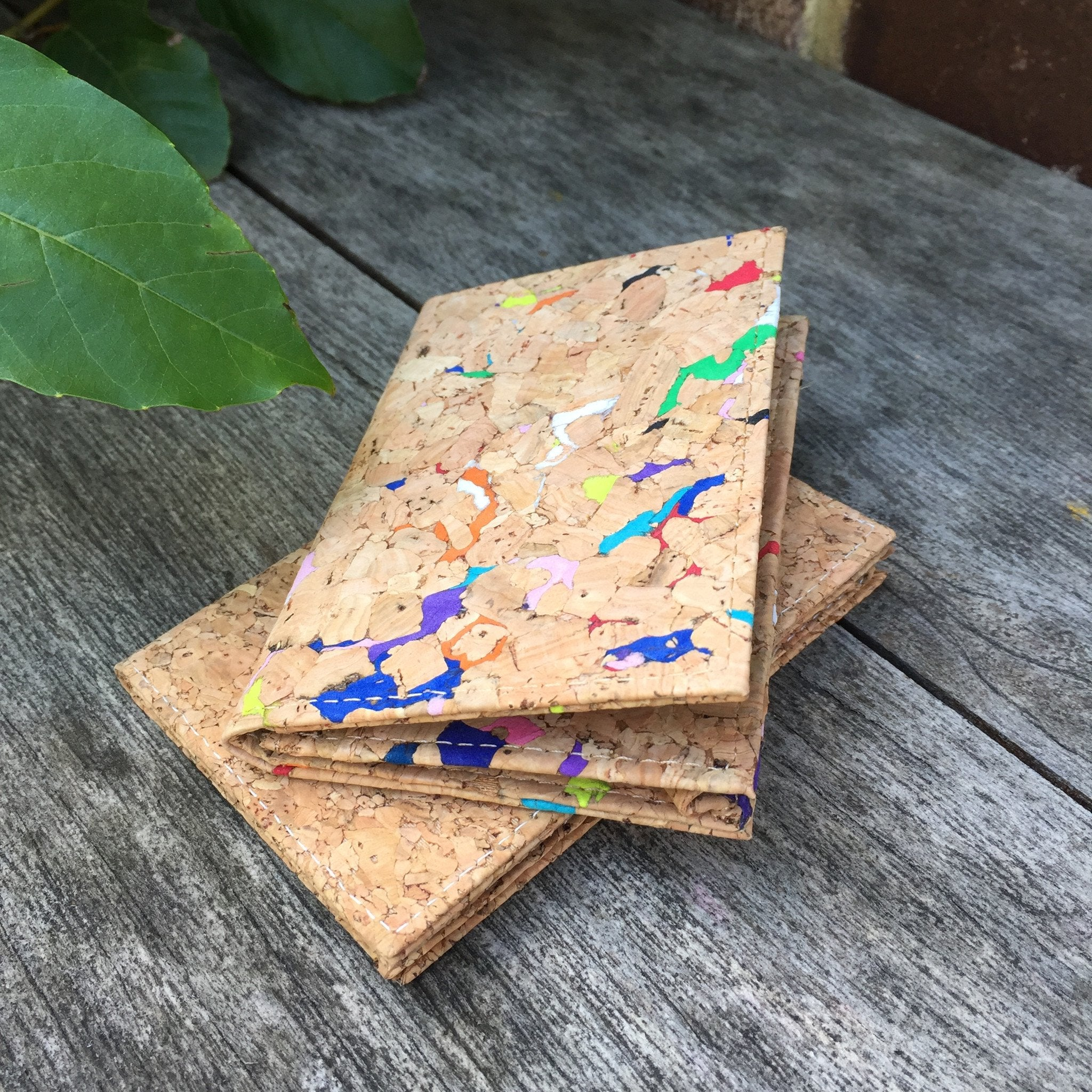 Kevin Bi-Fold Cork Card Holder in Classic