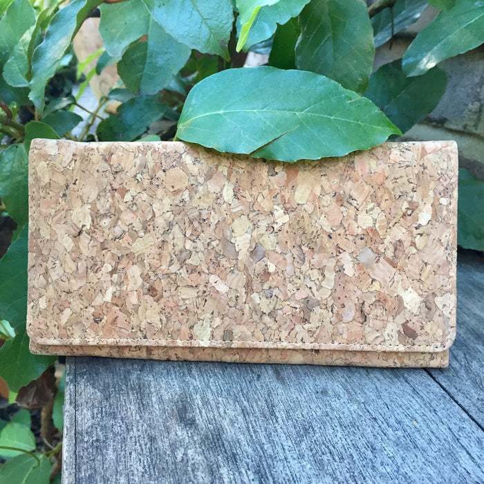 Lola Long Cork Wallet in Classic