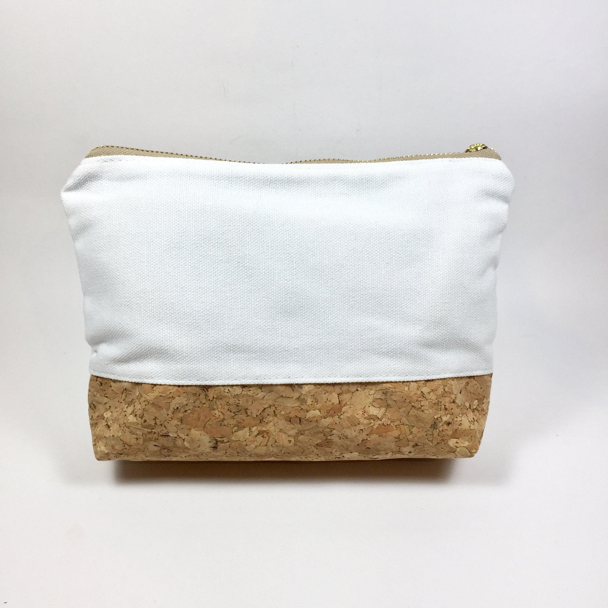 Miley Cork Pouch in Canvas