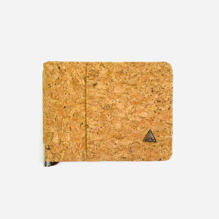 NEW! Matt Money Clip Cork Wallet in Classic