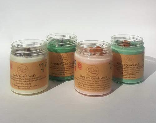 2 for $30 Crystal Soy Candles
