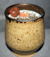 Pottery Crystal Soy Candles
