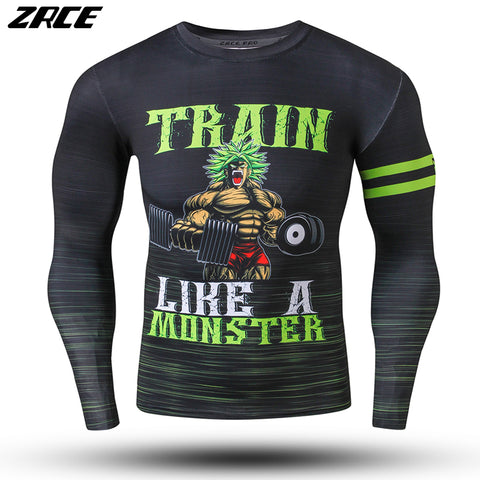 Dragon Ball - Train Like a Moster Long Sleeve