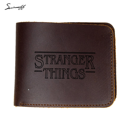 Stranger Things - Leather Wallet