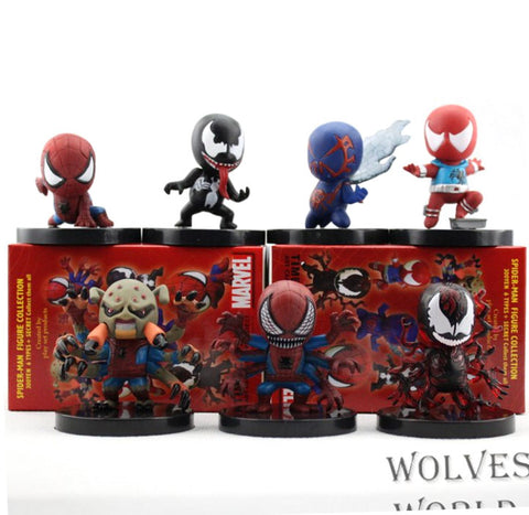 Spider-Man -POP Figures 7pcs/set